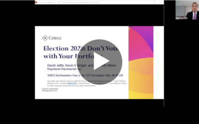 Election 2020: Don't Vote with Your Portfolio